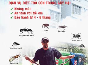 Phun xịt côn trùng