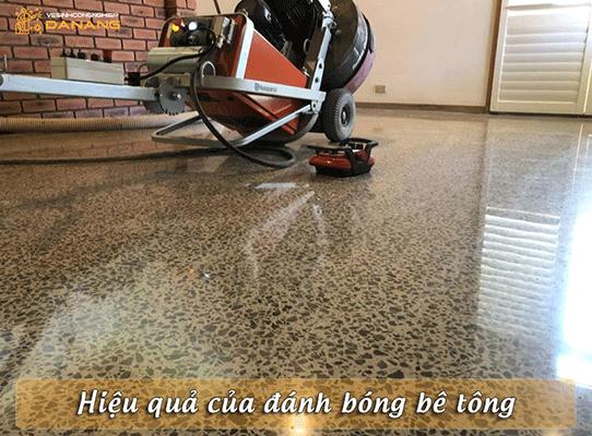 Đánh bóng sàn bê tông
