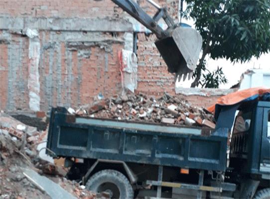 Vận chuyển rác, xà bần